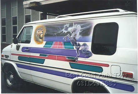 Custom Vans Parts Graphics Running Boards Mark III