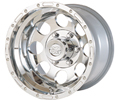 "Wheel: Evolution Series; 15"" x 8"" x 5 - 5"" bolt circle; Cast Alloy; Beadlock look"