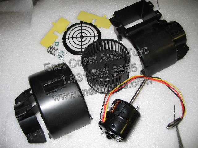 air conditioning parts custom vans recreational vehicles mark iii single shaft blower motor housing wheel kit